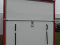 2 tengelyes dobozos utánfutó csörlővel